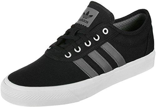 adidas Herren Adiease Skateboardschuhe, Schwarz (Negbás/Gricua/Ftwbla 000), 43 1/3 EU