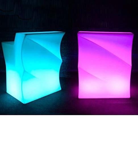 LuxArredi.com Bancone LED 90 cm Luminoso Bar Lampada portagliaccio arredi Luminosi Pub Catering Batteria Ricaricabile Litio Onda