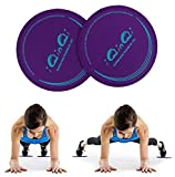Exercise Sliders, iQinQi Dual Sided Core Sliders,...