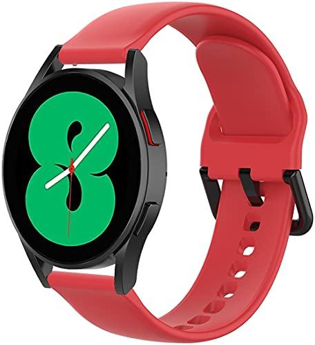 Gransho Correa de Reloj Compatible con Withings Steel HR Sport 40mm / Steel HR 40mm / ScanWatch 42mm, Impermeable Reemplazo Correas Reloj Silicona Banda (20mm, Pattern 1)