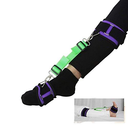 SHKY Knöchelgelenk-Trainingsgürtel - Medizinische Sprunggelenk-Korrektur - Beinhebergurt Steifer Fußheber - Senioren, Behinderung für Rollstuhl-, Hüft- und Kniegelenkersatz