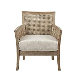 Amazon Madison Park Pauli's Accent Chair with Rattan cane