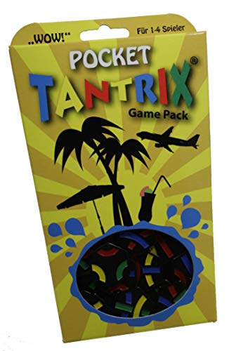 Tantrix Pocket-Taktisches Lege Puzzle, gelbe Verpackung
