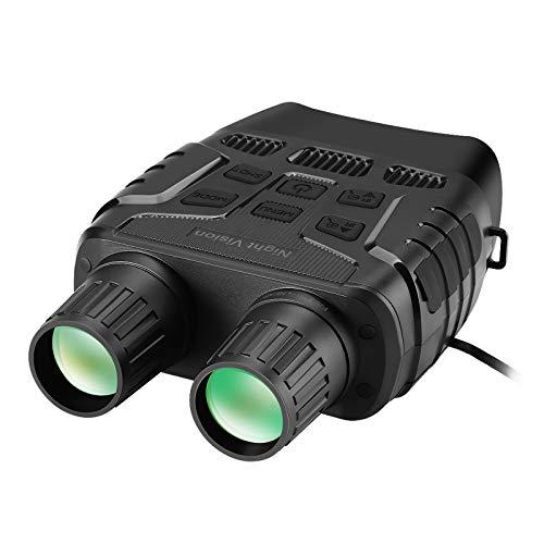 GUOQI Digitales Nachtsichtgerät Binokular, 300m Infrarot-Nachtsichtbereich HD Image 960P Video, 4X Digitalzoom, Reisen Jagd