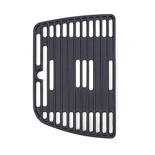 Klarstein Parforce Grillrost - Zubehör für den Parforce One/Duo Gasgrill, Material: Gusseisen, gleichmäßige Hitzeverteilung, schwarz