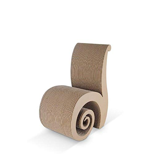 decopoint Sessel aus Karton - Kartonproduk CHIOCCIOLA Natural Cardboard