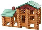 90 Stück Holzgebäude Spielhaus Spielzeug for Kind, die ersten Bausteine Spielzeug for My...