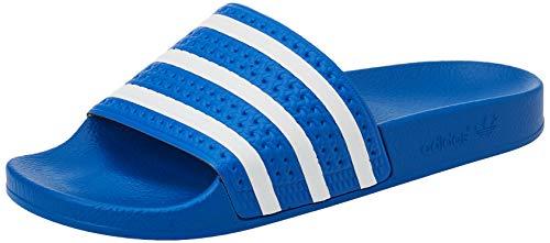 adidas Adilette, Slide Sandal Hombre, Glory Blue/Footwear White/Glory Blue, 42 EU
