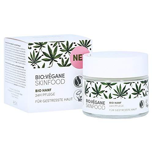 Bio:Végane Bio Hanf - 24h Pflege - für gestresste Haut - 50 ml