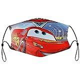 Best-design Cars Pixar Máscara facial UV, máscara de sol, para motocicleta, bufanda mágica, para pesca, caza, correr, esquí