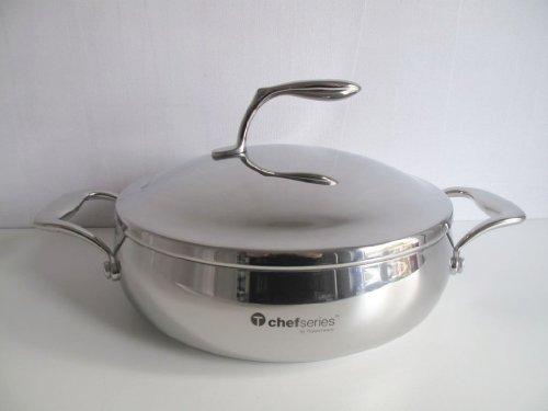 TUPPERWARE Serie Chef Gourmet linea per arrosto e SERVIER padella casseruola 2,8 L pentola