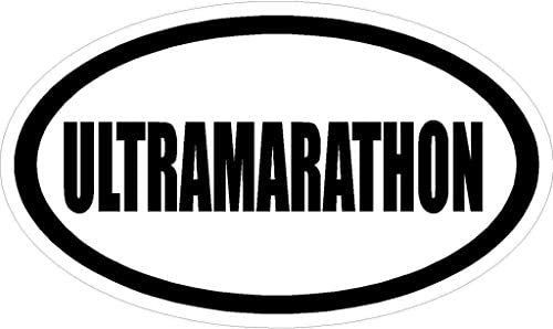 MFX Design Magnet Ultramarathon Euro Oval Style Decal 6 Oval Sports Magnet product image