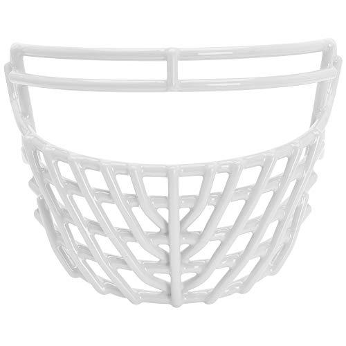 Schutt Sports ROPO DW XL STG Super Pro Carbon Steel Football Faceguard, White