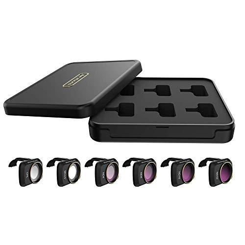 Taoric Filtro obiettivo Set UV/CPL/ND/Set filtro NDPL per DJI Mavic Mini2/Mavic mini(Uv Cpl Nd4 Nd8 Nd16 Nd32)