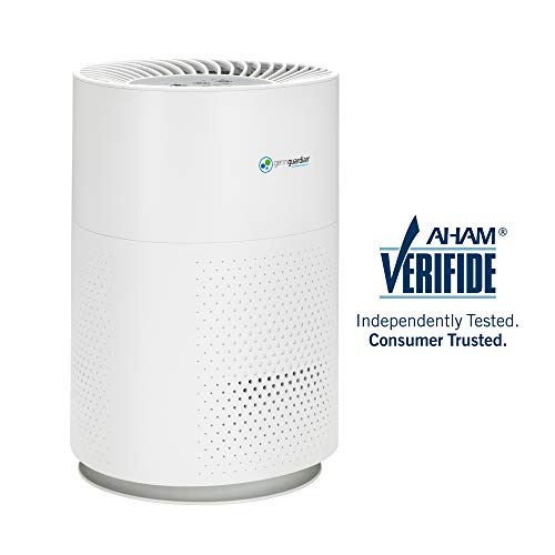 Price comparison product image Germ Guardian True HEPA Filter Air Purifier for Home,  Office,  Bedrooms,  Filters Allergies,  Pollen,  Smoke,  Dust,  Pet Dander,  Mold,  Activated Carbon Eliminates Odors and Deodorizes,  Quiet AC4200W