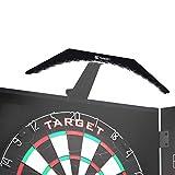 Target Darts ARC Dartboard Cabinet Lighting System Luz para Diana, Unisex, Negro con LED Blanco