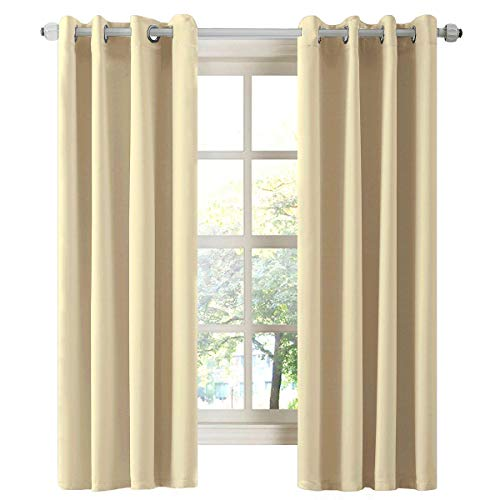 Thermal Insulated Blackout Darkening Grommet Living Room Curtain $14.99 (50% Off with code)