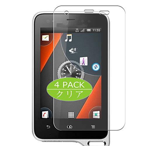 VacFun 4 Piezas Claro Protector de Pantalla, compatible con Sony Ericsson XPERIA Active ST17i / ST17a, Screen Protector Película Protectora(Not Cristal Templado) NEW Version