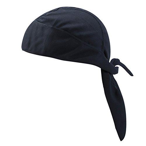 Pañuelo de Cabeza Pirata Unisex Sombrero de protección UV para el Sol Sombrero de Cabeza Pañuelo de Cabeza Ajustable y Transpirable Headwear Gorro