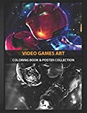 Coloring Book & Poster Collection: Video Games Art Space Suit Of Samus Aran Gaming