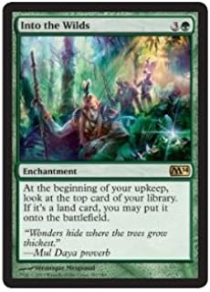 Magic: the Gathering - Into the Wilds (180/249) - Magic 2014