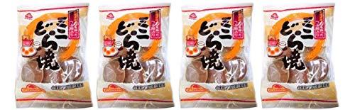 無添加 ミニどら焼(6個入)×4個 ★ コンパクト ★ 国産100%原料由来の小麦粉を主原料とした生地(皮)をふっくら焼き上げ、北海道産小豆使用の上品な甘味の餡をはさみ込みました。