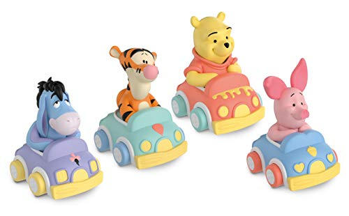 Clementoni 17264 Winnie The Pooh Soft and Go Cars, Modell Sortiert