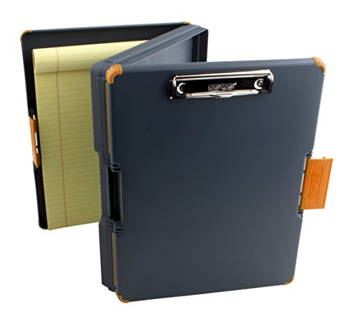 Dexas Duo Clipcase Dual Sided Storage Case and Organizer, Orange