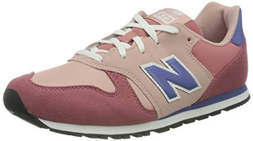 New Balance 373 YC373KPP Medium, Zapatillas Niñas, Pink (Off Road KPP), 39 EU