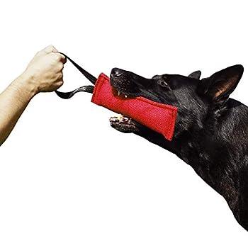 Dingo Gear Nylcot Jouet à mâcher pour Dressage de Chien K9 IGP IPO Schutzhund pour Recherche d'aveugle, récompense de Proie de Rapport, Fait à la Main en matériau français