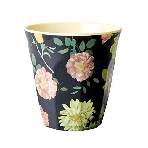 Rice Becher Dark Rose Print - Größe : Mittel