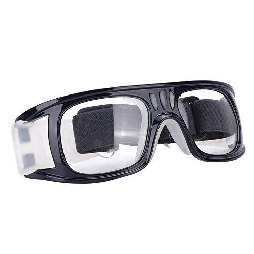 Alomejor Sportbrillen Basketball Sporttraining Brillen für Basketball Fußball Volleyball(Dunkelblau)