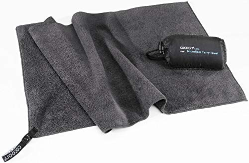 Cocoon Reisehandtuch Terry Towel Light - Microfiber - XL - dolphin blue