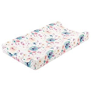crib bedding and baby bedding woyii baby nursery diaper changing pad cover changing mat cover changing table cover secure grip waterproof diaper changing pad contoured changing pad (a)