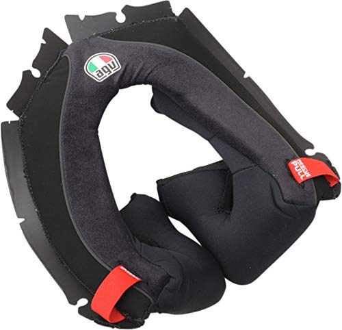 AGV Corsa-17 Cheek Pads Street Motorcycle Helmet Accessories - Black / 2X-Large