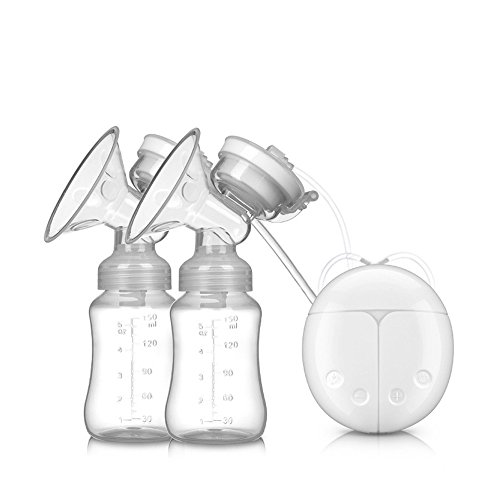 Check Out This Singleluci Baby USB Double Intelligent Electric Breast Nipple Suction Pump Breastpump...