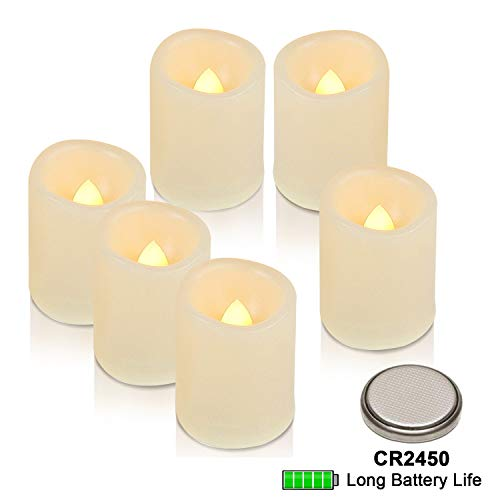 led votive candles timer - 5