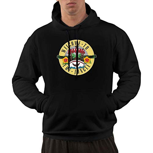 Lsjuee Welcome to My Boat Casual Fashion Men 's Pocket Hoodie 1