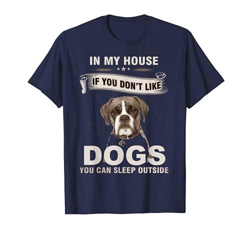 Divertidas camisetas boxeador perro dichos bóxer amantes de los perros Camiseta