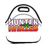 Bolsa Del Almuerzo Hun-Ter X Hun-Ter Logo Regalo Personalizado Bolso Al Aire Libre Con Cremallera Multifuncional Gourmet Tote Lunch Bag Para Office Work Bbq School