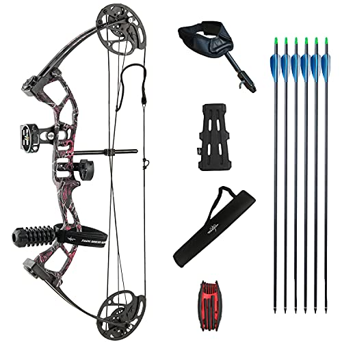 Southland Archery Supply Supreme Youth Compound Bow Package (Muddy Girl)