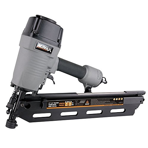 NuMax SFR2190 Pneumatic 21 Degree 3-1/2' Full Round Head Framing Nailer Ergonomic and...