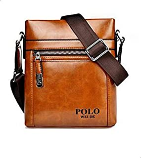 LEATHER polo Shoulder bags