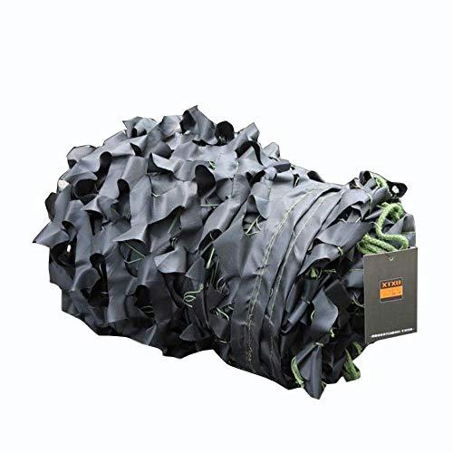 Shengluu - Furniture Sets Schatten Tuch Tarnnetze Camouflage Netz Schwarz Oxford-Stoff Autodeckendes Zelt Armee-Militär Jagd-Jalousien, Größe anpassbar -sll'shop128 (Color : A, Size : 3x6m)