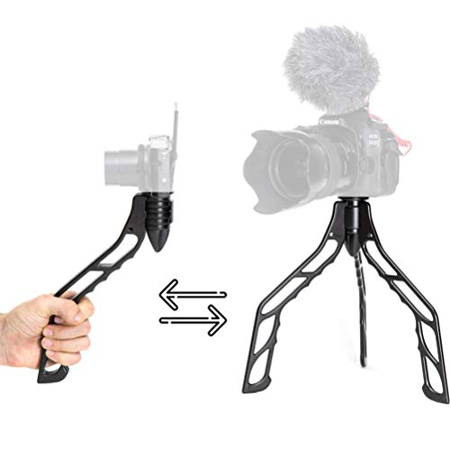 SwitchPod DSLR Tripod for Smart Phone Camera Stand Holder for iPhone, Android, Aluminum, Lightweight, Indestructible, Great for Selfies, Vlogging, Photography Switch Pod