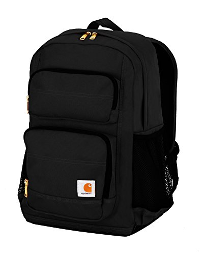 Carhartt Unisex-Adult Legacy Standard Work Pack Backpack, Black, OFA
