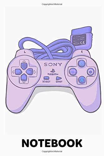 Playstation 1 Pad Notebook: (110 Pages, Lined, 6 x 9)