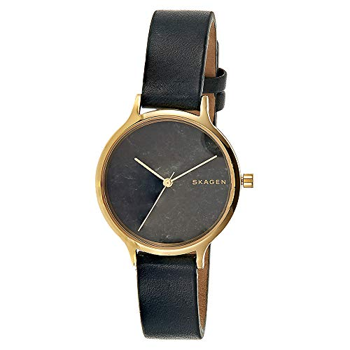 Skagen Damen-Uhren Analog Quarz One Size Leder 87551563