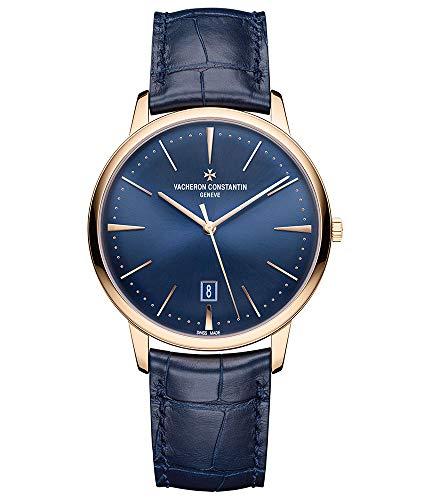 Vacheron-Constantin Patrimony Rose Gold Blue Dial 40mm Watch