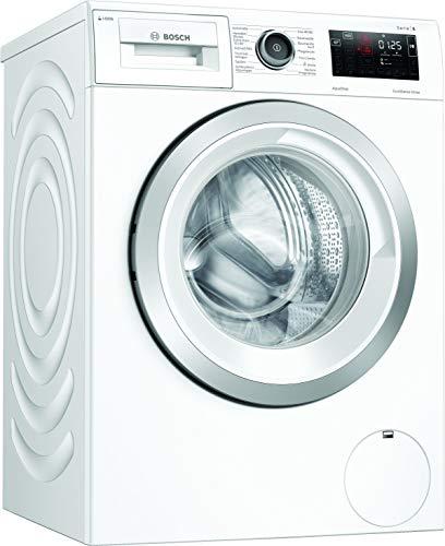 Bosch WAU28P40 Serie 6 Waschmaschine Frontlader / C / 66 kWh/100 Waschzyklen / 1400 UpM / 9 kg / Weiß / i-DOS™ / SpeedPerfect / Home Connect